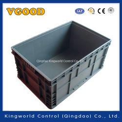 Fabricant de l'UE Heavy Duty standard Boîte de rangement en plastique solide de roulement