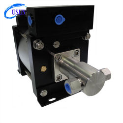 Usun 모형: Ah80 300-600 바 유압에게 공구 죄기를 위한 고압 압축 공기를 넣은 수압 시험 펌프