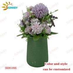 Ornamenti artificiali di piante succulente per decorazione interna