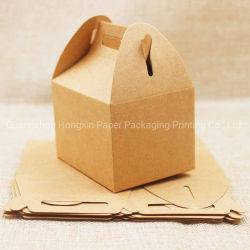 Papel Kraft festas de casamento dom natalino Bolo de sacos/chocolates/Candy Saco de embalagem stand up Food Limpar janela de PVC caixas de Vedação
