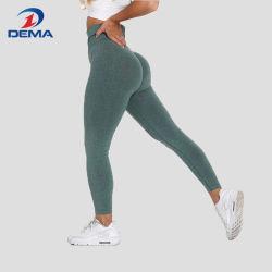 Pantaloni senza giunte di yoga delle ghette di allenamento dell'elevatore di estremità delle donne