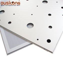 금속 건축재료 새로운 디자인 청각적인 알루미늄 중단된 천장판