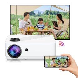 Lien P3 home cinema draagbare HiFi dubbele luidsprekers Multimedia 6000 Lumens Micro Full HD-projector