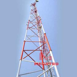 Torre de aço Tubular Telecom Megatro&Mastro de elevação