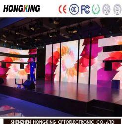 حائط خلفية LED كامل الألوان للمناسبة، لوحات LED متحركة من مرحلة الحفلات (P3.91، P4.81، P6.67)