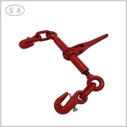 Hardware de rigging/Drop forjado tipo trinquete el cuaderno de carga con dos ganchos