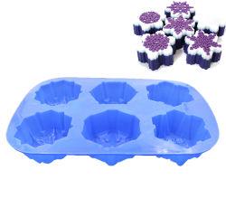 雪の結晶形シリコーン Fondant 型 Cake 型 DIY ハンドメイドペストリー 金型ベーキング金型