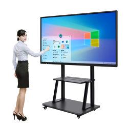 School LCD schrijfbord Digitaal Whiteboard Interactief Flat Panel Alles In één tv-scherm touchscreen bewaakt smartboards