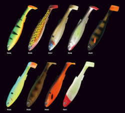 Deep Sea leurres de pêche Pêche à la traîne avec palette Swimbait queue