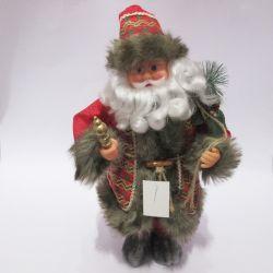Adornos de Navidad de color rojo de la decoración de Navidad Santa Claus