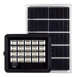 Straatverlichting schijnwerper buitenshuis geïntegreerd in één 60 W 120 W. Zeer efficiënte zonne-LED