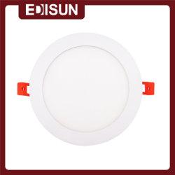 Neue CE/ERP-Verordnung 100-240V 24W Verstellbare LED mit rund-CCT-Einbauleuchten Schlanke Panel-Leuchte
