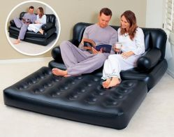 Almofada insuflável duplo sofá-cama Exact exterior familiares celebridade da Web