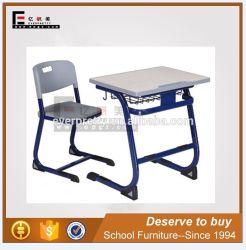 Einzelsitz-moderner Kursteilnehmer-Schreibtisch-Stuhl-gesetzter Kind-Tisch-Stuhl