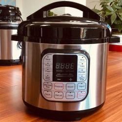 جهاز طهو ضغط كهربائي متعدد الوظائف من سبع وظائف في جهاز طهو الأرز آلة تحضير الطعام Slow Cooker بضغط خزفي مهواة ومتجددة الهواء، مصنوعة كلها من الحجم الصين
