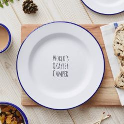 도매는 다채로운 주문 상표 매력 대중음식점을%s 장식적인 분류한 은식기 타원형 사기질에 의하여 그려진 금속 야영 큰 접시를 손으로 만들었다