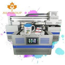Новые обновления малых 4030 формат Цифровой планшетный УФ принтер A3 и TX800/Dx8 головки блока цилиндров для бутылок в случае телефона