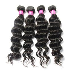 Оптовые волосы Remy людской Бестарные бразильские Вирджинские волосы