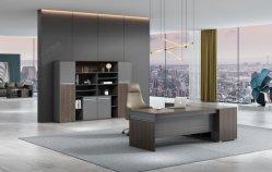 Carte moderne en bois Gestionnaire d'études Desk Directore Table des cadres de mobilier de bureau