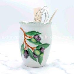 세라믹 홈 데코 주방용품 올리브 디자인 선물