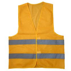 Высокая видимость оранжевый желтая отражательная безопасности Майка светоотражающие куртки