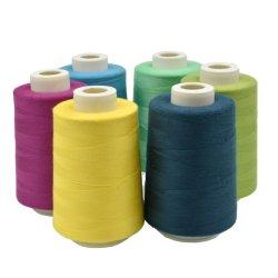 Gesponnenes Polyester-Nähgarn des Qualitäts-konkurrenzfähigen Preis-402 Kern