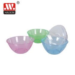Recipiente de plástico transparente/Ensaladera/Frutero para vajilla