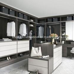 Fábrica de Foshan Nuevo estilo de diseño moderno mobiliario de Casa armario ropero