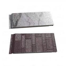 Bastidor de metal ligero material de construcción de casas de la pared de paneles sándwich para el muro de cemento reparación