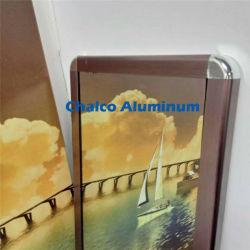 Image cadre photo de profil en aluminium de moulage