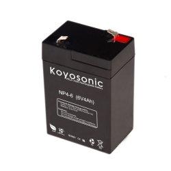 6V 4ah бесплатное поддержание типа и аварийное освещение Использование батареи ИБП
