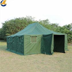 맞춤형 대형 모바일 걸쭉한 방수 캔버스 실외 긴급 구조 및 재해구호공사 겨울 캠핑 텐트