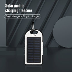 Портативное зарядное устройство для телефона солнечной батарейный блок зарядки на свежем воздухе, смартфон