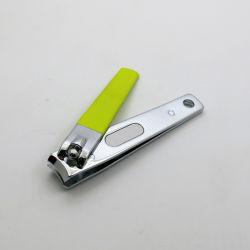 Mode Revêtement électronique peinture caoutchouté Grip Tondeuse à ongles nail Cutter pour soins de manucure
