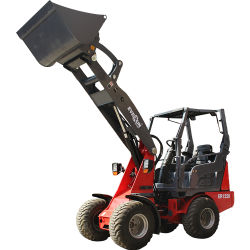 China Factory Price Everun CE Certified Articated Er1220 Farm مجراف الجرافة معدات البناء مجرفة تحميل صغيرة ذات عجلات لمدة أوكازيون