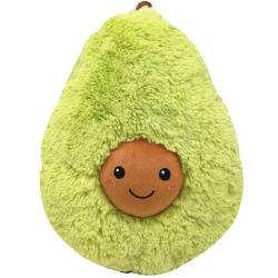 PV de Avocado van de Vruchten van het Fluweel werpt Stuk speelgoed van de Pluche van het Speelgoed van het Hoofdkussen het Pluche Gevulde Zachte