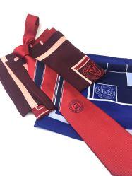 OEM cravates en soie de mode parfait Mens Logo de l'école Liens personnalisé de haute qualité jacquard Neck Tie