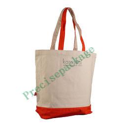 Il marchio su ordinazione ha stampato il grande sacchetto di Tote organico riciclato Rreusable amichevole della tela di canapa del cotone della mussola della pianura 100% della spiaggia della spalla della drogheria di acquisto di Eco