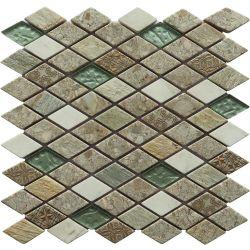 Carrara Branco Mosaico Mosaico Pedra de resina Mosaicos