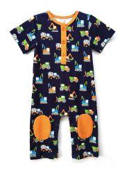 O bebé romper as crianças Vestuário Vestuário de criança Romper Casual Verão vestuário para bebé Jumper tricotado Infant Romper Cartoon Bodysuit impresso