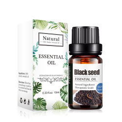 10ml Kanhoの黒い種油のAromatherapyの精油
