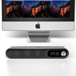 재충전 전지에 있는 구조를 가진 Bluetooth 스피커 자명종 스피커