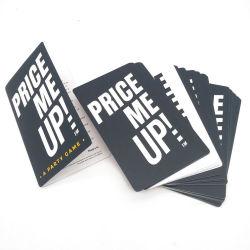 Uma parte do preço do jogo-me para Entretenimento adulto Cartão de reprodução personalizadas OEM Jogo de Cartão de impressão