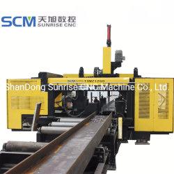 금속용 3스핀들 CNC 빔 천공기계