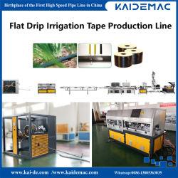 linea di produzione del nastro di irrigazione goccia a goccia di 0.15-0.6mm/nastro piani del gocciolamento che fa macchina gocciolare velocità 180m/Min della macchina dell'espulsore del nastro