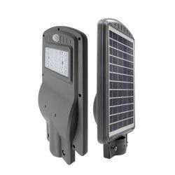 Высокий люмен датчик движения IP65 водонепроницаемый светильник для использования вне помещений смарт-все-в-одном интегрированном 20W солнечной улице светодиодный индикатор