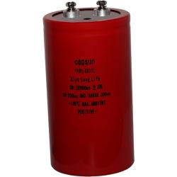La capacitance électrolytique de 250V22000UF Outdoor disjoncteur du circuit de vide Haute Tension condensateur de la machine de soudage