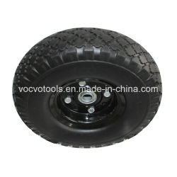 10インチの車輪のタイヤ300-4 3.00-4 PUの泡の車輪