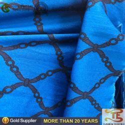 100% poliéster tela Pongee impreso resistente al agua con revestimiento de PU para prenda exterior