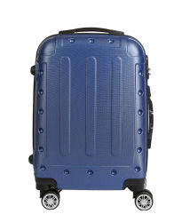 普及した余暇袋のABSトロリー荷物の4つの車輪(XHA146)が付いている堅い箱ボックス